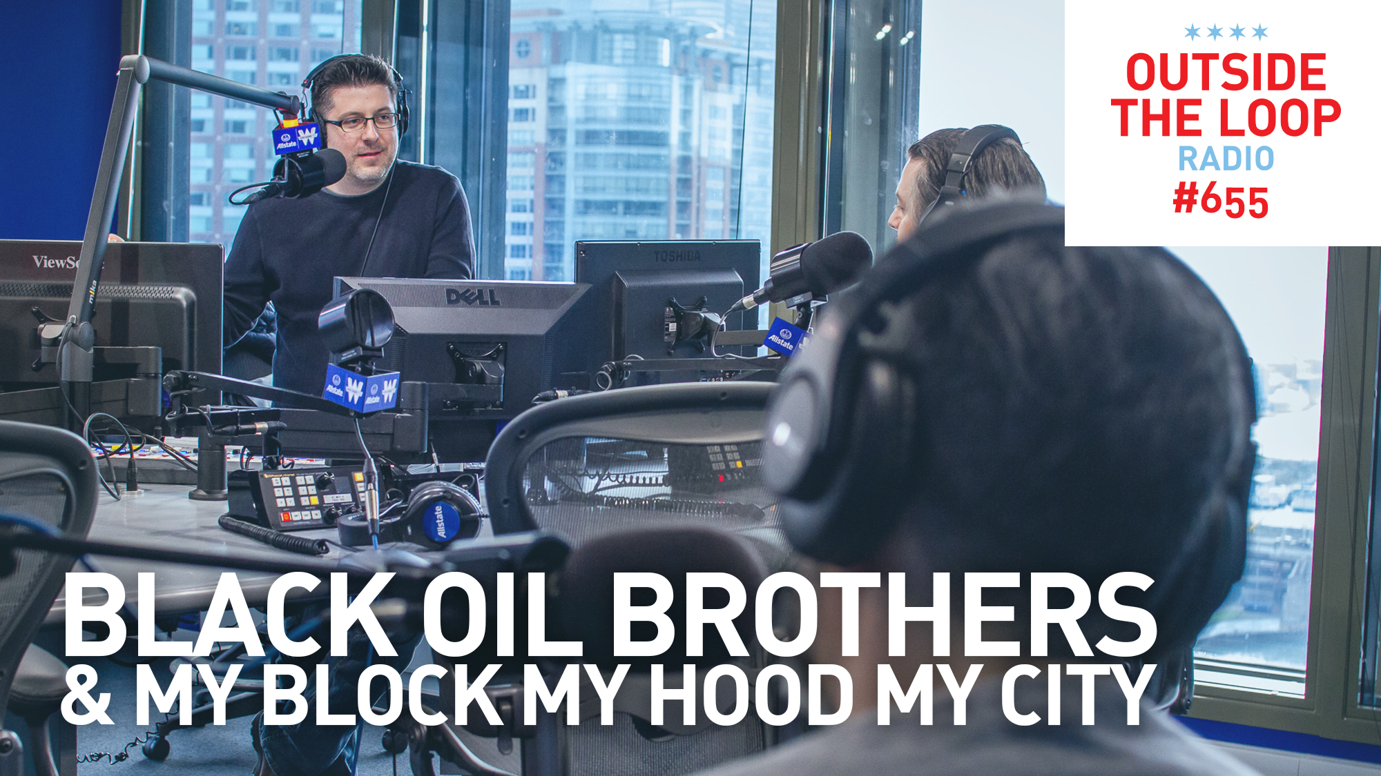 Mike Stephen welcomes The Black Oil Brothers into the WGN Radio studio.