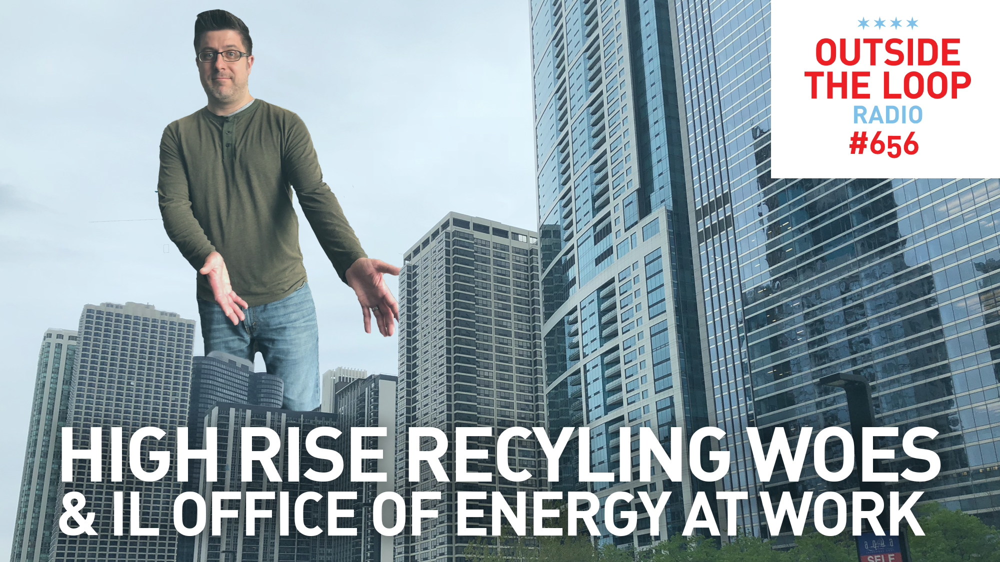 Mike Stephen wonders why so few Chicago high rise buildings recycle.