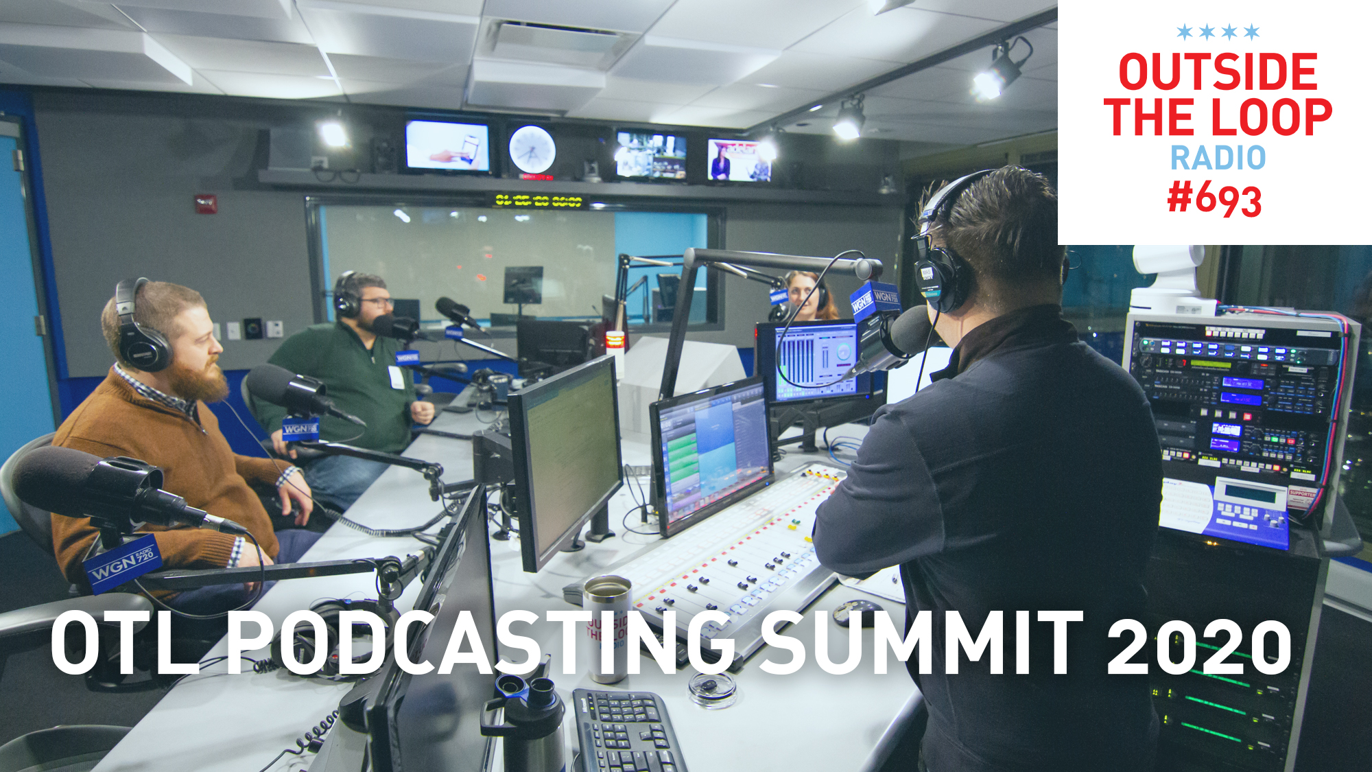 Mike Stephen hosts the OTL 2020 Podcasting Summit.