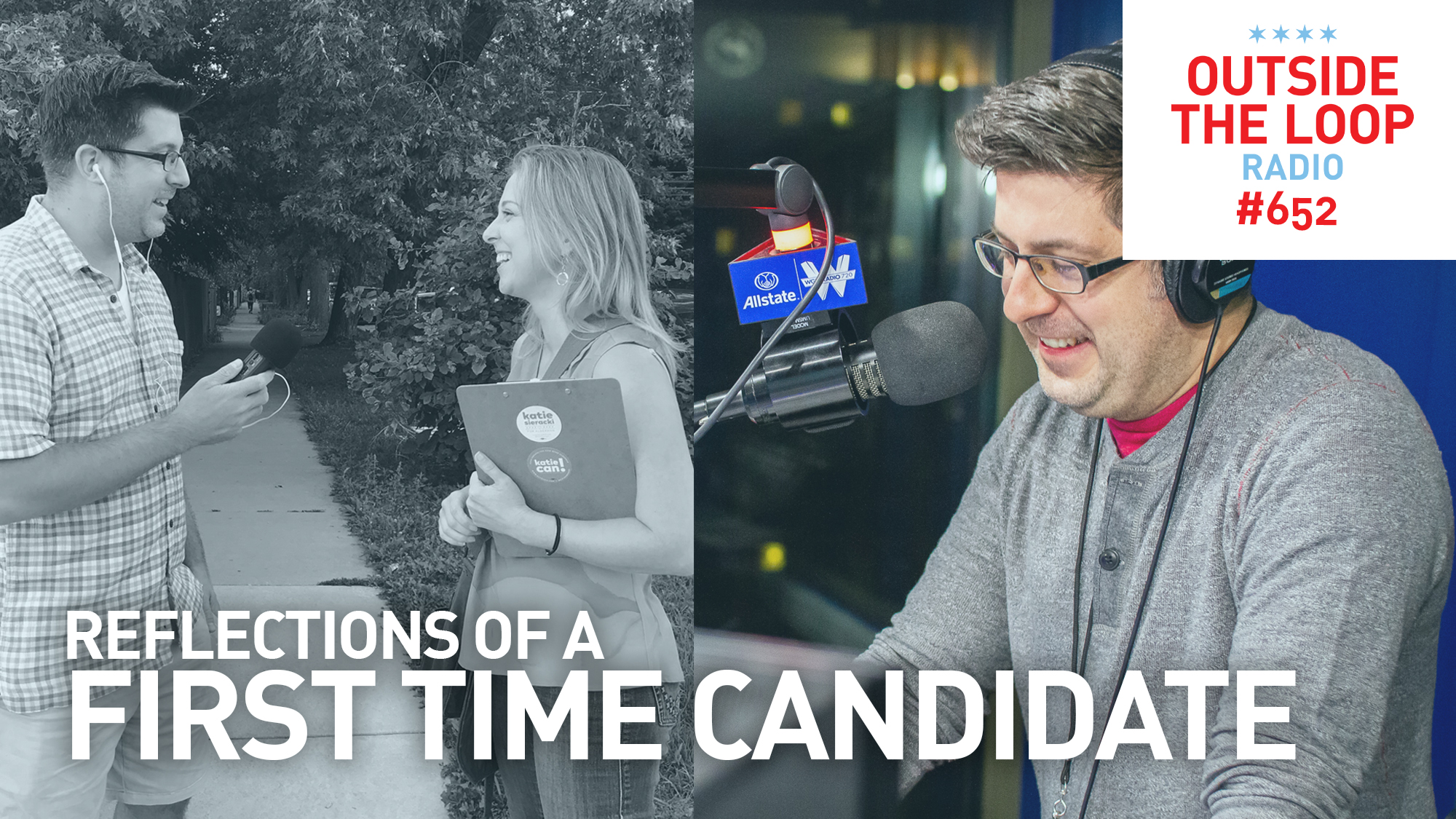 Mike Stephen talks to first time candidate for alderman Katie Sieracki about what she learned during her campaign.