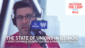 Mike Stephen discusses the state of unions in Illinois from the WGN Skyline Studio.