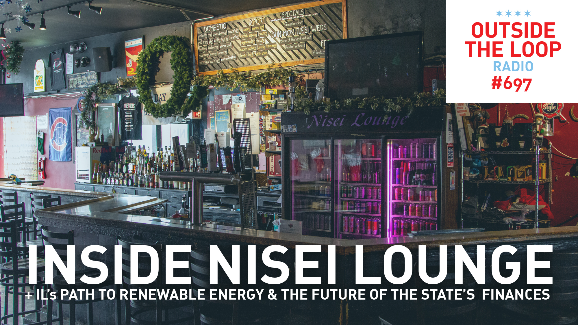 Mike Stephen takes us inside Wrigleyville's Nisei Lounge as part of the OTL Winter Tavern Tour.