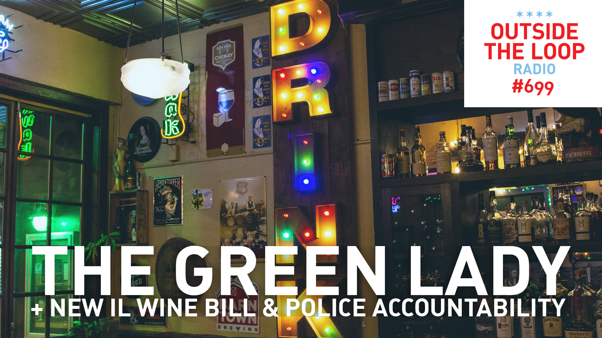 Mike Stephen takes us into The Green Lady bar in Chicago.