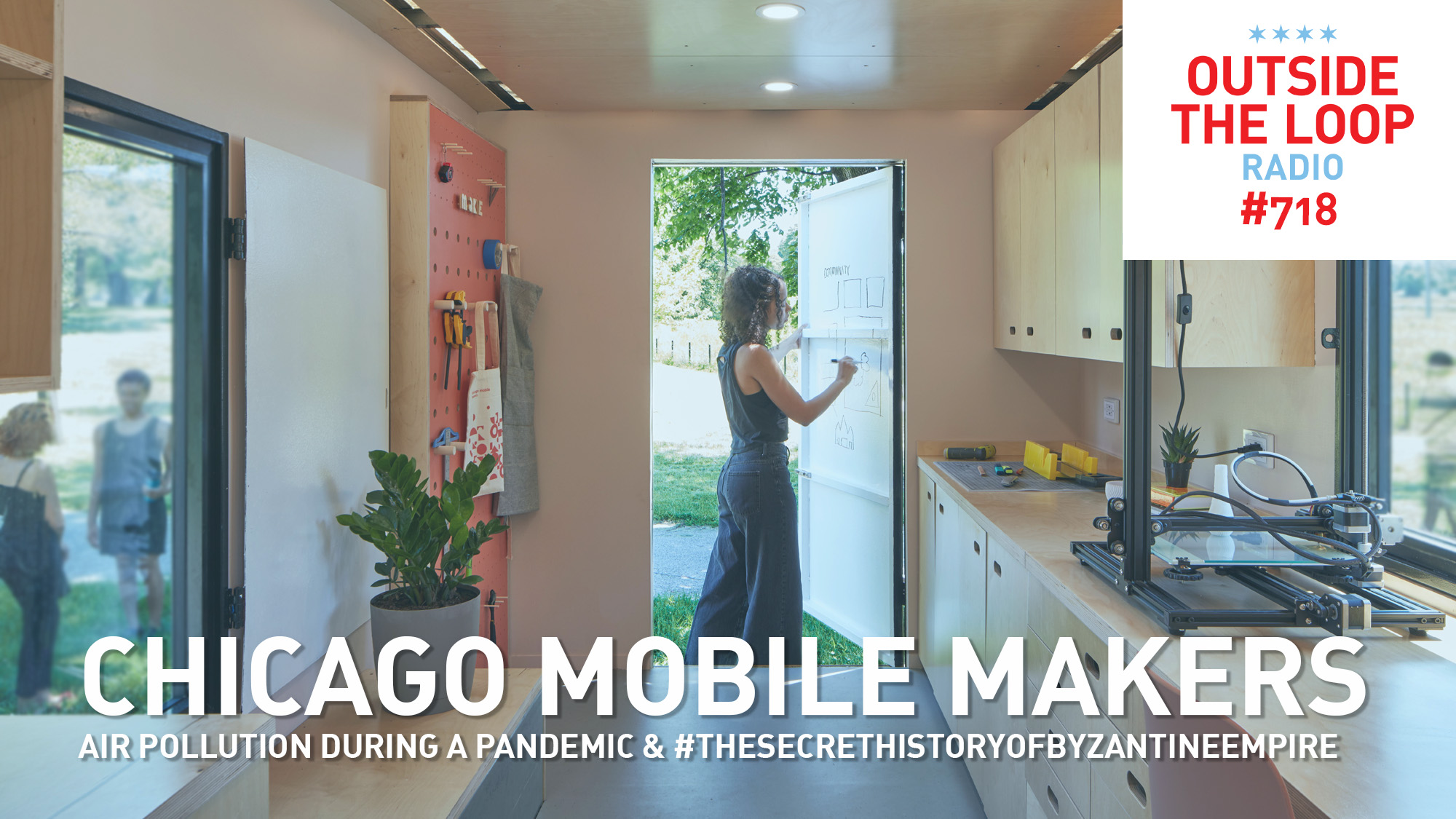 A look at the inside of the new Chicago Mobile Maker Space. Photo by Tom Harris.