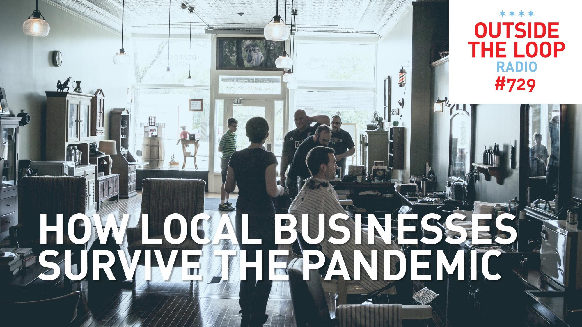 Inside Batavia's Beardsgaard Barbers.