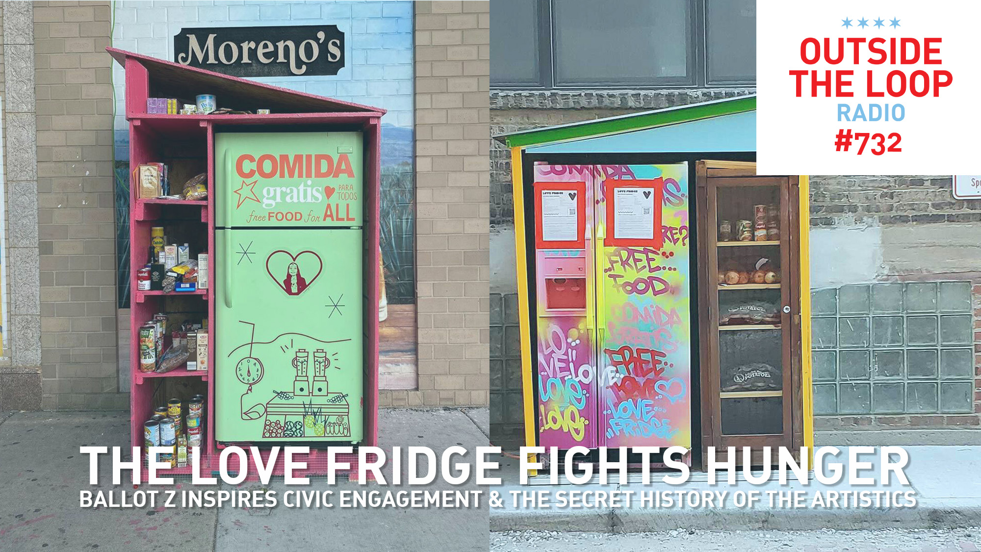 The Love Fridge lends a helping hand in Chicago neighborhoods.