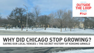 The border of Chicago and Oak Park.