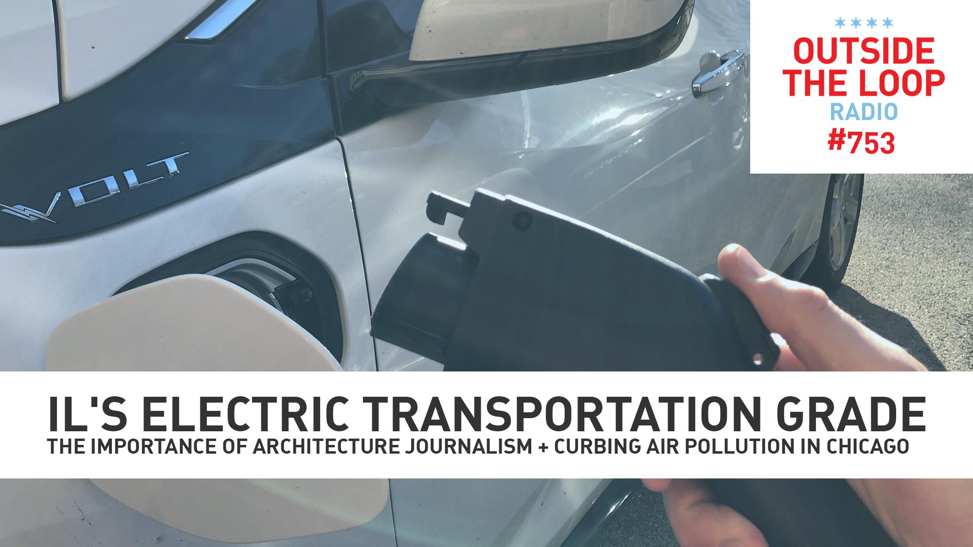 Electric transportation. (Photo courtesy of Collin Seaman/WGN Radio).