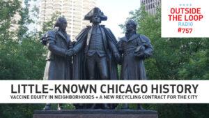 The Three Patriots Statue. (Photo public domain)